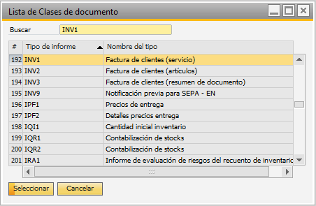 Paso 2 Importar informes a SAP Business One