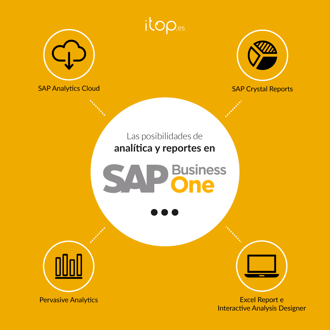 analítica y reportes en SAP Business One