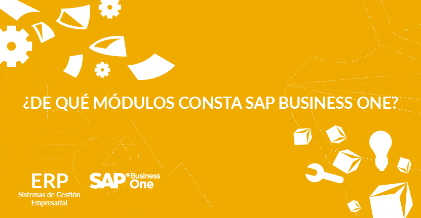 ¿De qué módulos consta SAP Business One?
