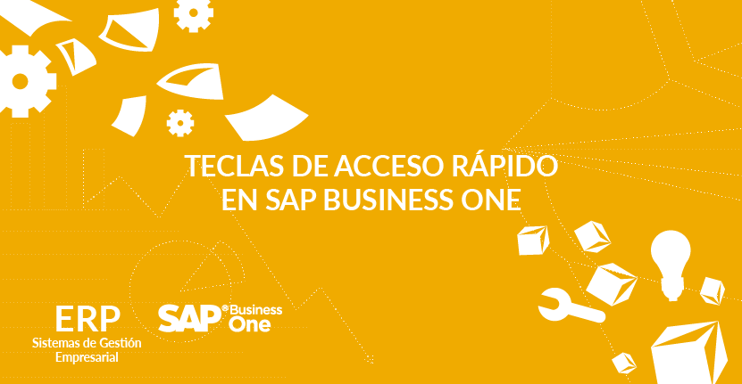 Teclas de acceso rápido en SAP Business One