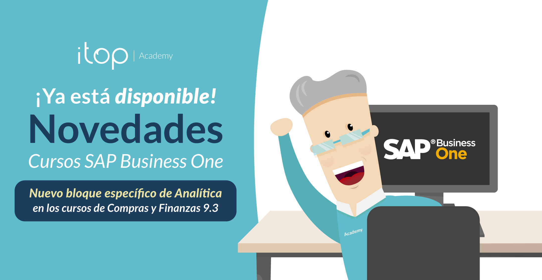 Nuevo Bloque de Analítica en los Cursos Online de SAP Business One