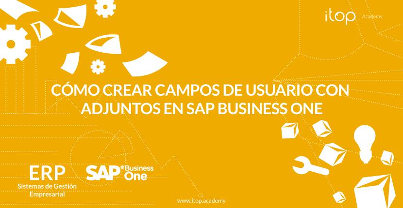 Cómo crear campos de usuario con adjuntos en SAP Business One