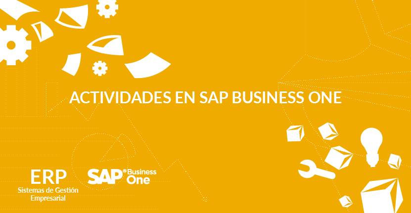 Actividades en SAP Business One